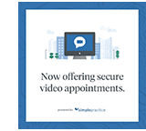 Simple Practice Secure Video Appointments